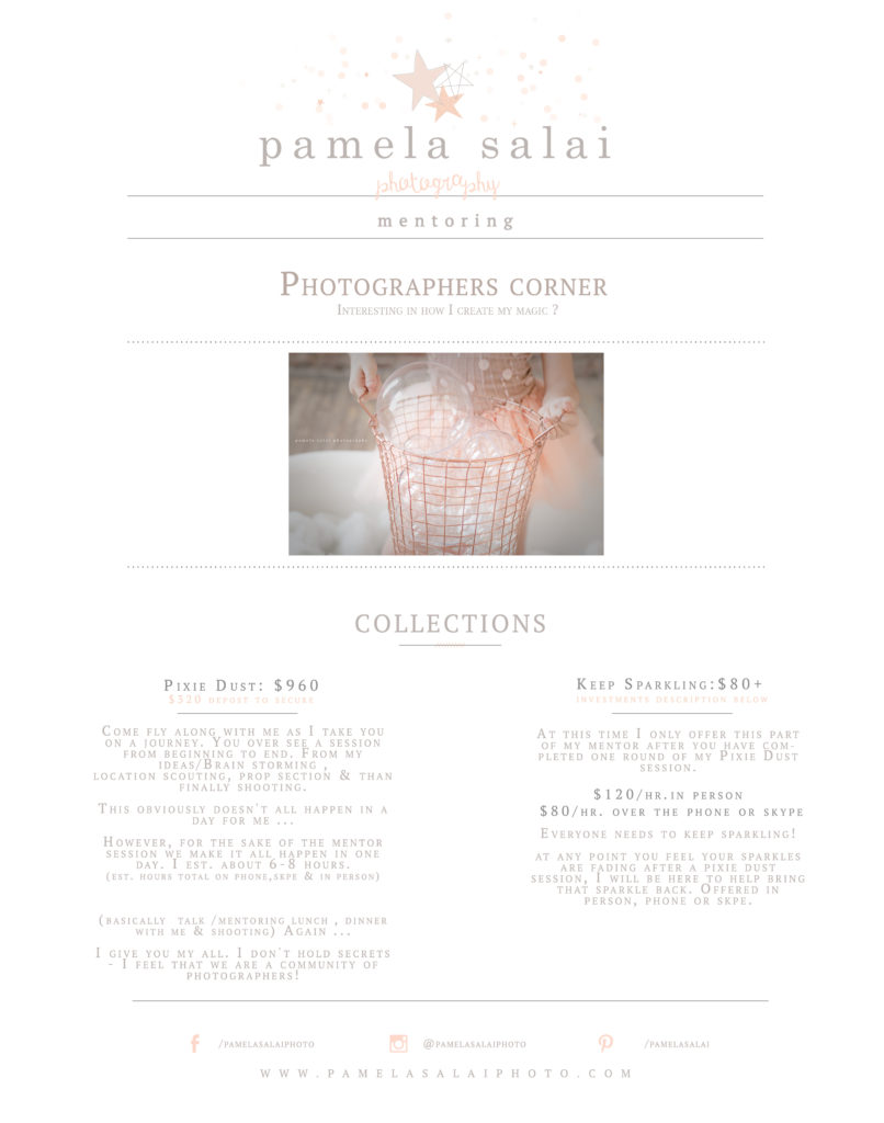 Pamela salai photography pittsburgh mentoring