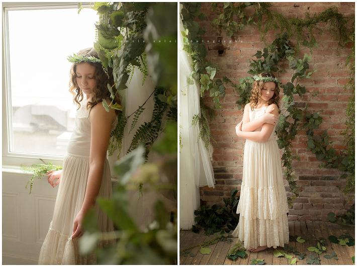 secret garden pamela salai photography wanderlight studio natural light child posing