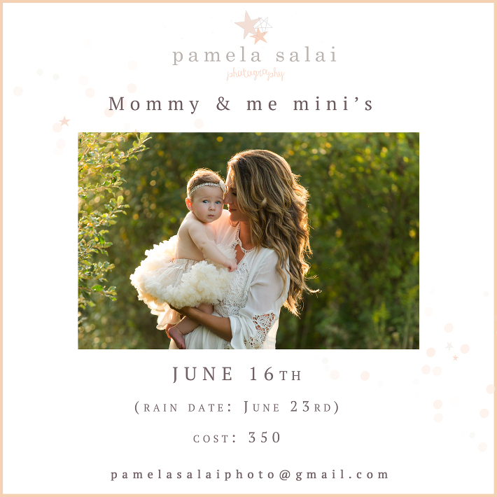 Pittsburgh mommy and me sessions - including maternity mini session outside in lush green during golden hour