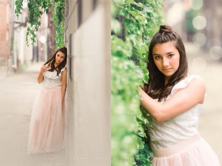 13 teenager alleyway posing ivy Pittsburgh