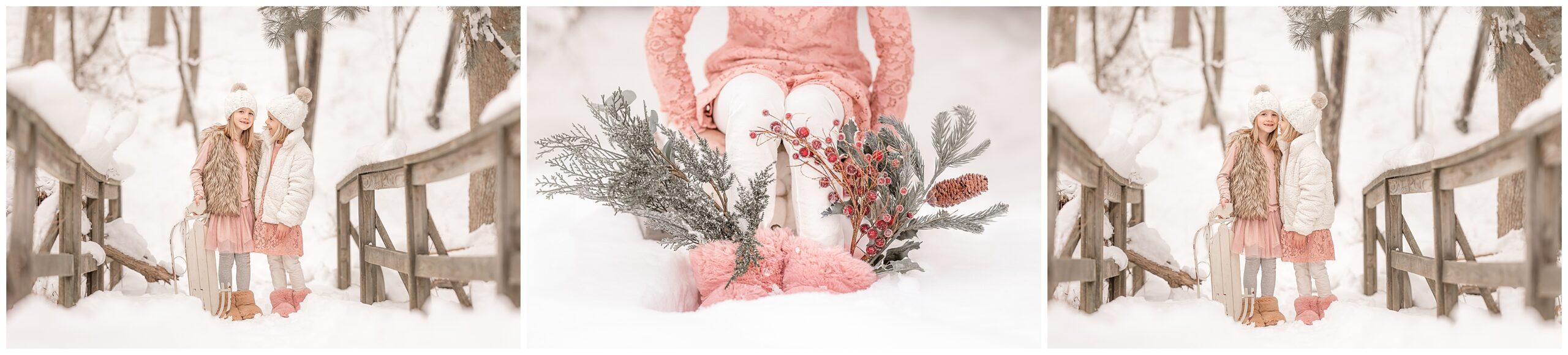 Pamela Salai Photography snow mini session
