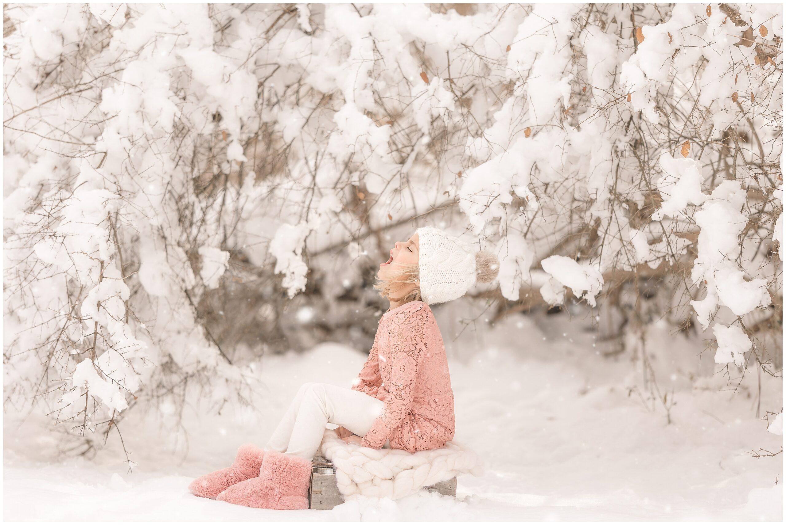 Pamela Salai Photography snow mini session 5